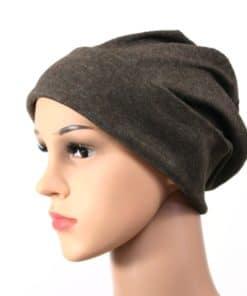 Anna soft cotton beanie sleapcap 055