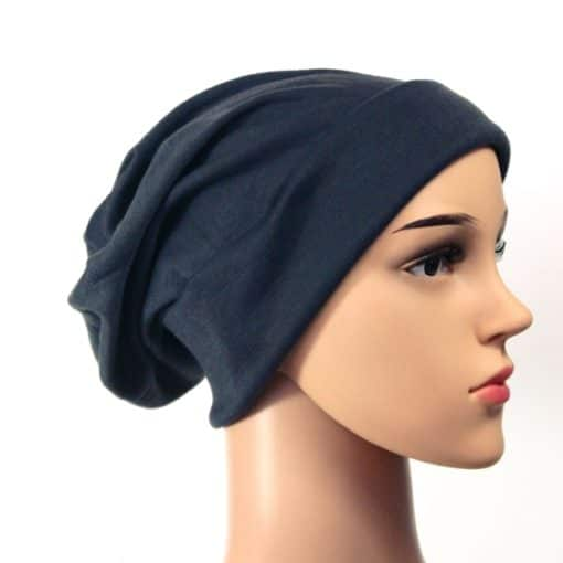 Anna soft cotton beanie sleapcap