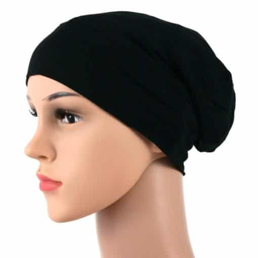Bella-soft-cotton-satin-lined-beanie-sleapcap-001