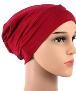 Bella-soft-cotton-satin-lined-beanie-sleapcap