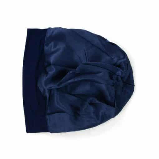 Bella-soft-cotton-satin-lined-beanie-sleapcap-inside