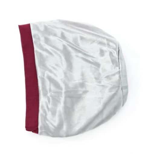 Diana-soft-pleated-cotton-satin-lined-beanie-sleapcap-inside