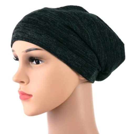Elise-soft-knitted-cotton-satin-lined-beanie-sleapcap-003