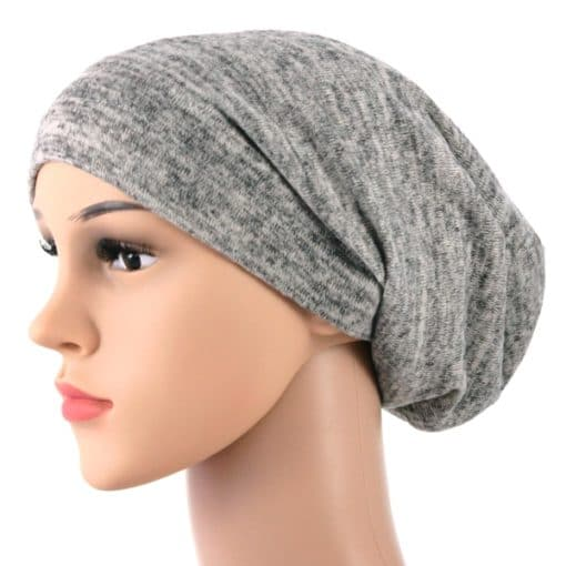 Elise-soft-knitted-cotton-satin-lined-beanie-sleapcap-004-3
