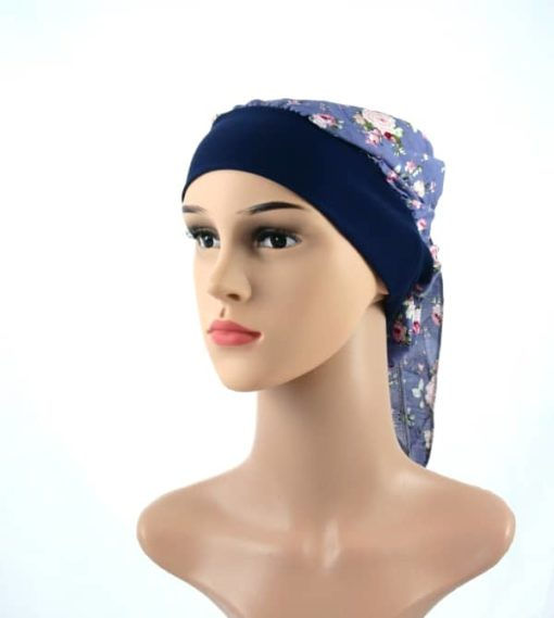 Flora-simple-cotton-pretied-headscarf-chemo-turban