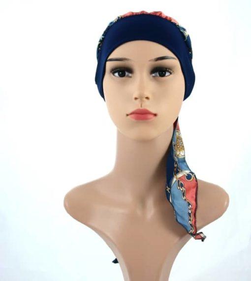 Gloria-simple-satin-pretied-headscarf-chemo-turban-