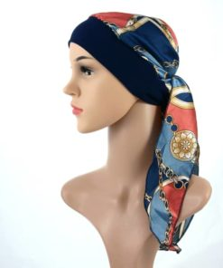 Gloria simple satin pretied headscarf chemo turban