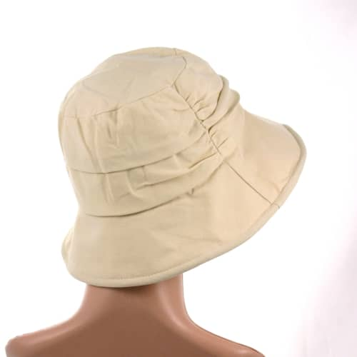 Jessica-pleated-chemo-cotton-summer-hat