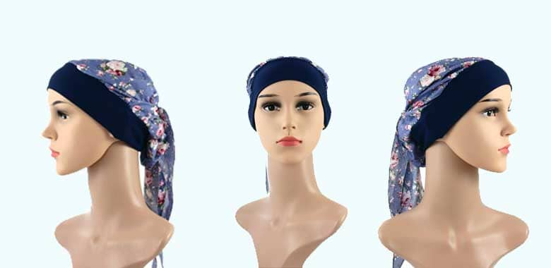 Turbans and scarves for the hairless time
